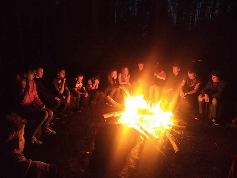 3-я киносмена в английском лагере в Ленинградской области English city