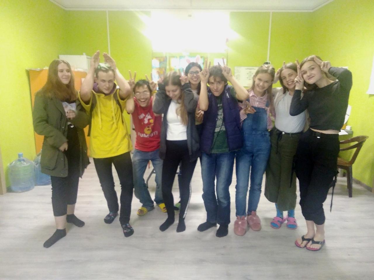 3-я смена детского английского лагеря English City