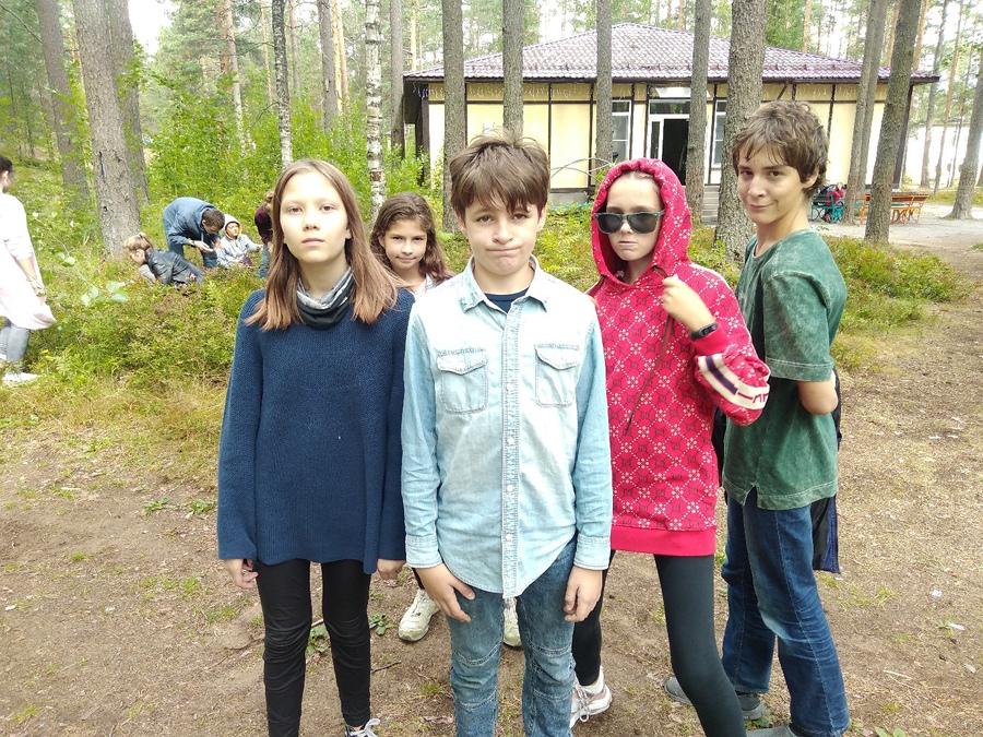 английском лагере в Ленинградской области English city - ДОЛ Пионер!