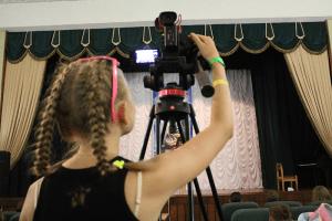 детская студия кино языкового лагеря English Сity